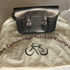 Cambridge Satchel Company 11in black multi glitter